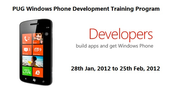 iunlockjoy - PUG Windows Phone Development Training Program
